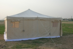 wall type relief tent 1