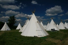 Indian tipi or Teepee