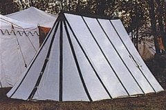 Wedge Medieval tents