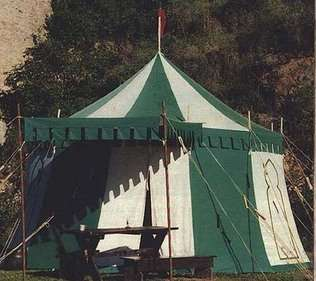square medieval tents for sale