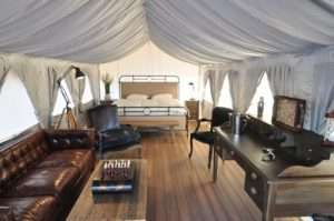 Luxury Safari tents