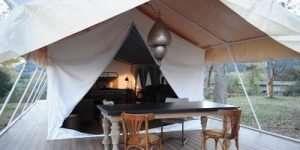Ultra Luxury safari tent, jungle safari tent, exclusive safari tent