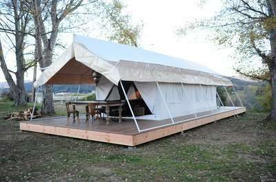 jungle safari tent semi deluxe