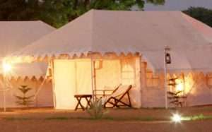 Luxury Swiss cottage tents 3
