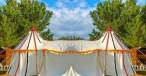 Tudor or henry king viii tent