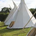 the indian canvas teepee