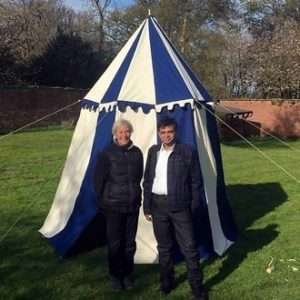 Round Medieval tents for sale
