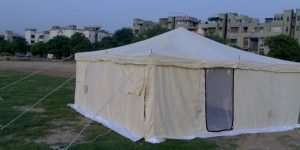 wall type emergency relief tents, single fly relief tent , emergency relief tents , social distancing tents, cheap tents , multipurpose tents , labour tents