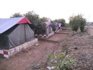8 men Canvas resort tent