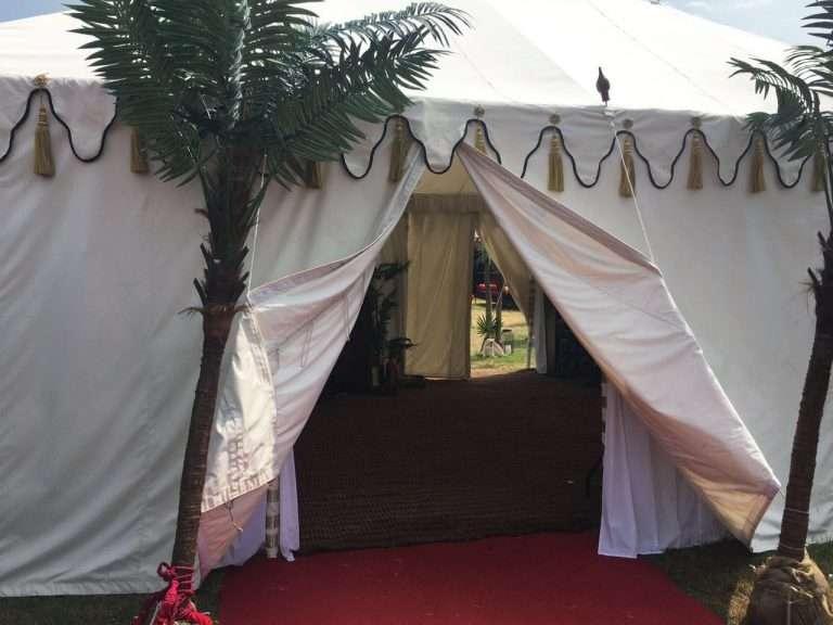 Luxury Raj Indian tents