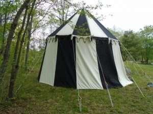 Round Medieval Pavilion or carousel