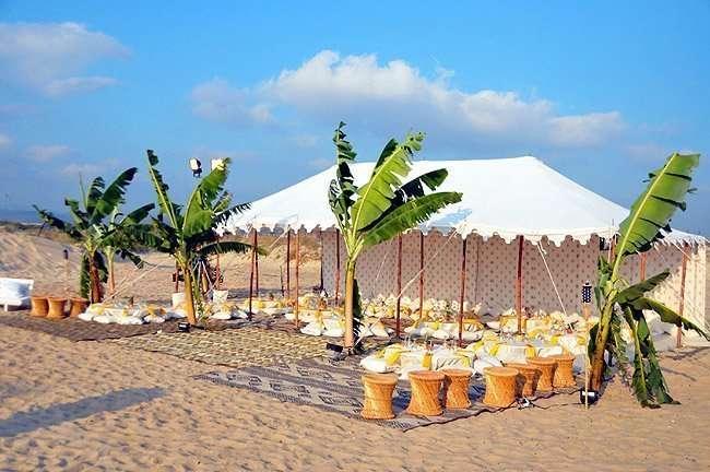 The Raj Indian Tent 8
